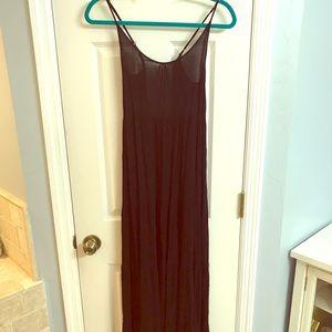 Bohemian Black Maxi Dress